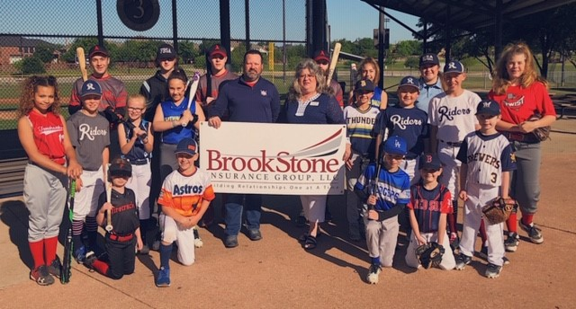 FBSA youth sports and BrookStone Insurance Group